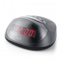 Rádio Relógio Digital Zorh Am/fm/Alarme/Função Soneca